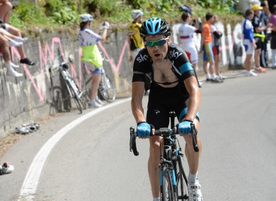 Deignan powers uphill during stage 15. (File photo)