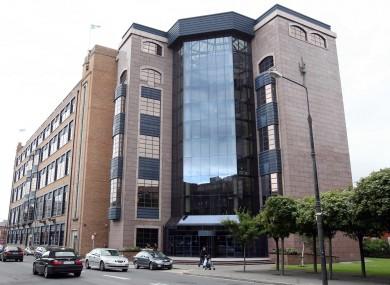 The treasury building, headquarters of NAMA.