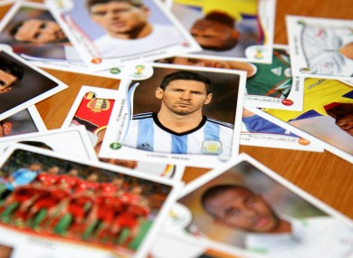 Leo Messi: one of the biggest names in this year's Panini book.