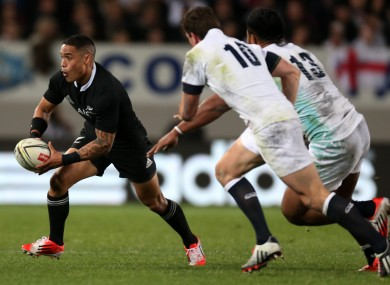 Aaron Smith was in excellent form for the All Blacks.