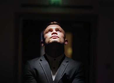 Frampton is unbeaten in his 18 professional fights to date -- but number 19 will be his biggest night yet.