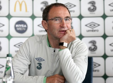 O'Neill looking relaxed yesterday afternoon.