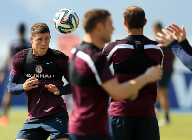 Ross Barkley has been awarded a starting role against Costa Rica.