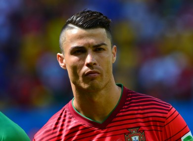 Ronaldo and Portugal were dumped out of the World Cup at the group stages.
