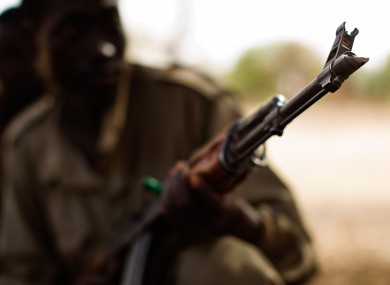 A soldier in Sudan (File photo)