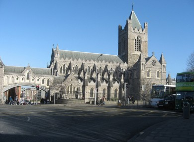 Christchurch in Dublin (file photo)