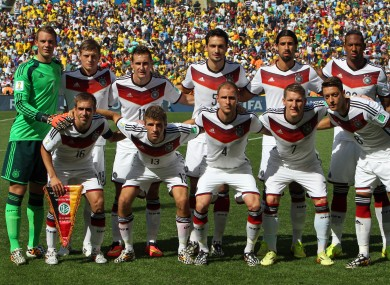Germany are widely regarded to have the best squad of the teams left in the competition.