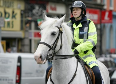 File photo of the Mounted Unit.