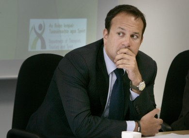 Leo Varadkar is set to replace James Reilly as Minister for Health