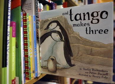 File photo of the 'And Tango Makes Three' book.