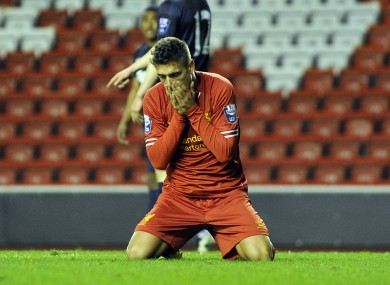Kristoffer Peterson got on the score sheet for Liverpool tonight.