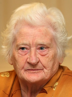 Survivor Rita McCann in Dublin last year.
