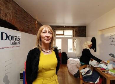 Karen McHugh from Doras Luimní