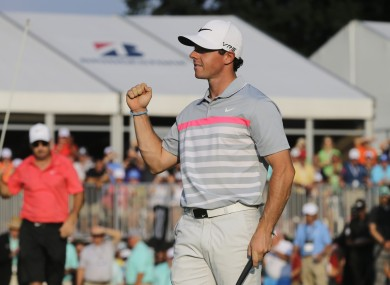 Rory McIlroy will look for a third win on the bounce this week.