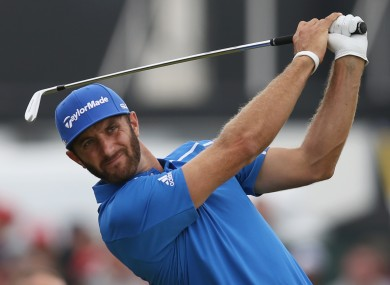 Dustin Johnson has taken a leave of absence from golf, citing