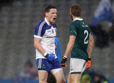 Monaghan's Conor McManus celebrates a score.