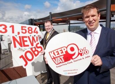 Restaurants Association of Ireland Chief Executive Adrian Cummins, launching today's report.