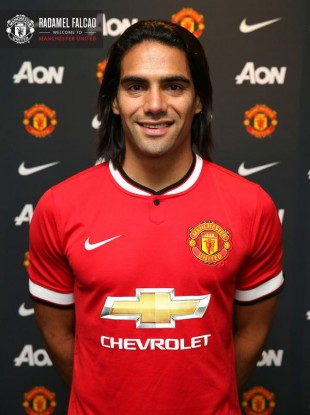 Man United's loan signing of Falcao has now been officially confirmed.