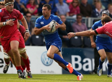 Rob Kearney will look to pick up from his excellent performance last weekend.