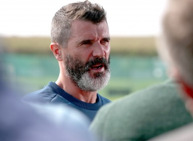 Keane at Gannon Park earlier today.