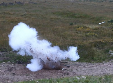 Controlled explosion (File photo)