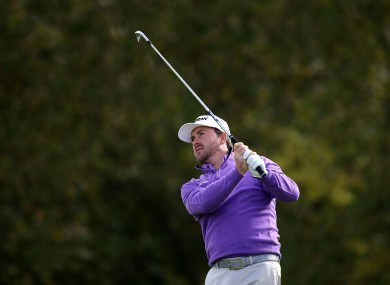 McDowell shot a solid three-under 69 earlier (file pic).