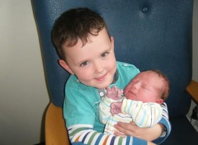 Jake and his younger sister, Savannah.