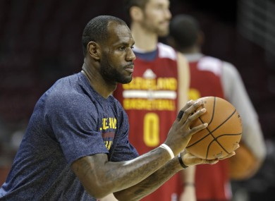 the best attitude 536a1 4ea42 LeBron James is going to make his much-hyped official return ...