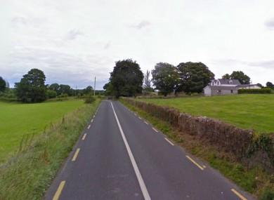 Nutfield Cross on the Kilconnell Road (R348) near Ballinasloe.