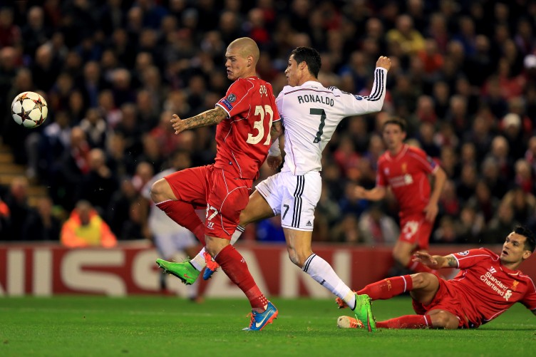 Ronaldo And Benzema Both On The Mark As Real Blitz Liverpool At