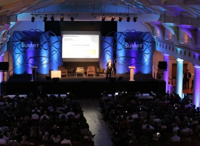 The Marketing stage from last year's Web Summit.