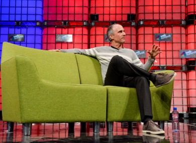 Funny or Die CEO Dick Glover speaking at the Web Summit earlier today.