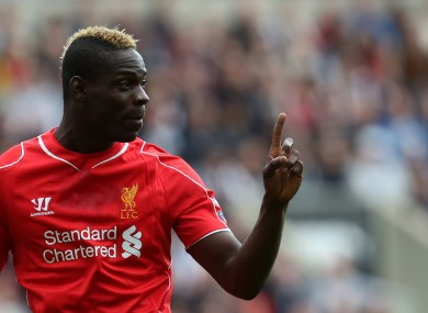 Mario Balotelli has come under fire following a series of below-par performances since joining Liverpool.