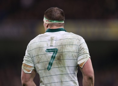 Ruddock was excellent in the seven shirt for Ireland last weekend.
