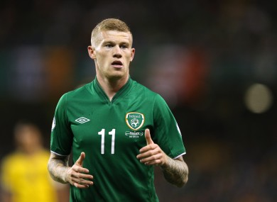 McClean is in action this evening for Wigan.
