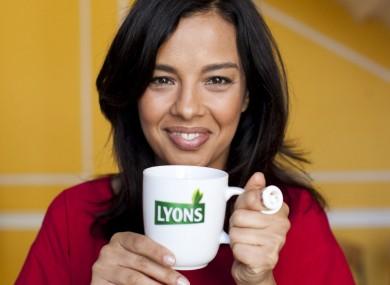 TV presenter Liz Bonnin plugs Lyons Tea's