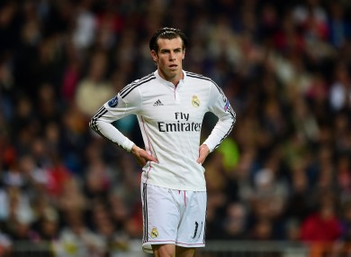 Bale has recently recovered from injury.