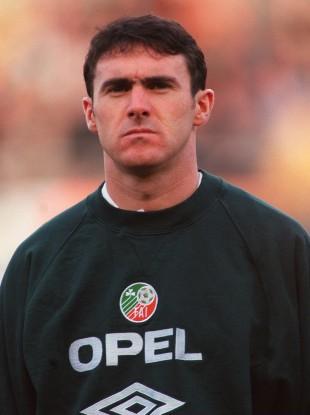 McLoughlin represented Ireland 42 times at senior level.