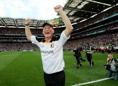 Kilkenny manager Brian Cody is among the nominees this year.