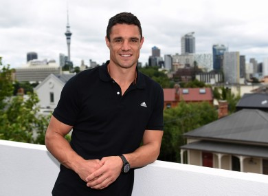Dan Carter's move to Racing Métro was confirmed in the late hours of last night.