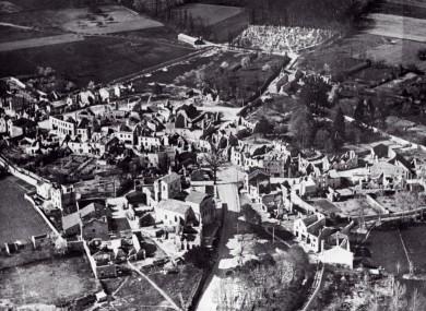 The ruins of Oradour-sur-Glane.