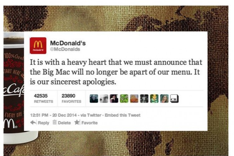 McDonald's forced to deny it's getting rid of Big Mac after