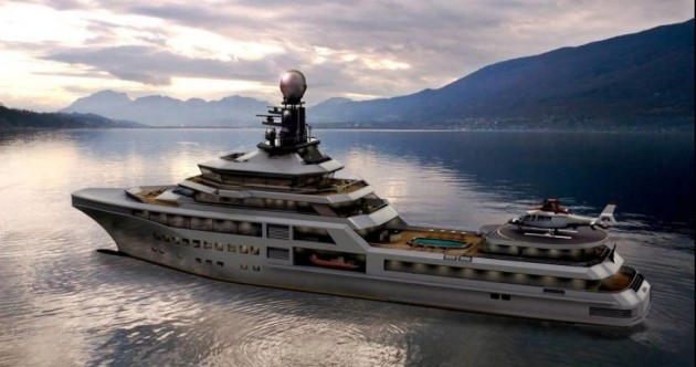 This $150 million behemoth is the Rolls-Royce of superyachts