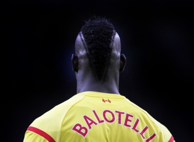Liverpool's Mario Balotelli is set to return from suspension.