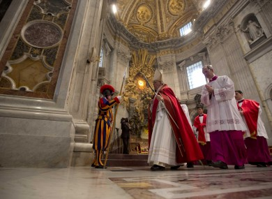Pope Francis: Feeling flush