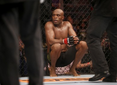 Thirteen months after sustaining a career-threatening injury, Anderson Silva will be back in the Octagon tonight.