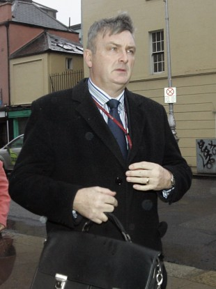 Outgoing GSOC chairman Simon O'Brien