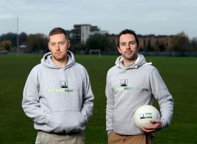 Dan Holden and Graham Carrick, founders of runlastman.com