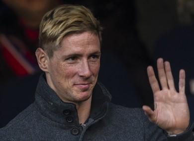 Fernando Torres is still a club legend in Madrid.