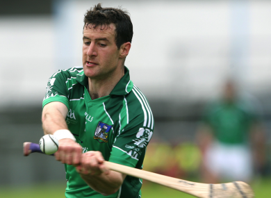 Ex-Limerick hurler Andrew O'Shaughnessy.